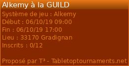 Tournoi Alkemy à La Guild dimanche 6 octobre 25336