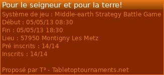 [SDA] Tournoi Seigneur des anneaux le 5 mai a Metz (57) 10175
