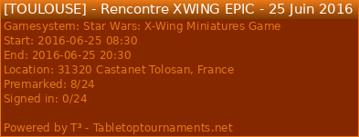 [TOULOUSE] - Rencontre XWING EPIC - 25 Juin 2016 16726