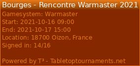 Bourges - Rencontre Warmaster 2021 - 16 et 17/10/21 - Page 2 28128